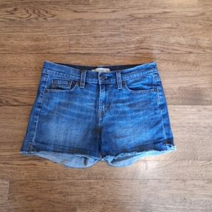 Levi's Red Tab Shorts with Raw Edge 0